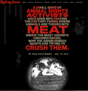 Rolling Stone's animal cruelty expose